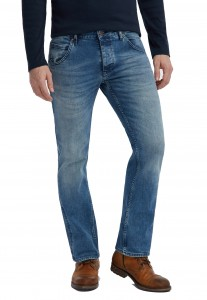 Herr byxor jeans Mustang Michigan Straight  1007244-5000-424 *